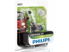 Галогеновая лампа Philips H11 LongLife EcoVision 12362LLECOB1